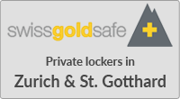 Gold storage Switzerland private lockers